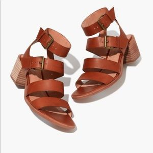 Madewell Quinn sandals saddle